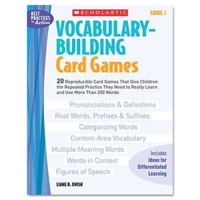 scholastic-inc-439573149-vocabulary-building-card-games-grade-four-80-pages