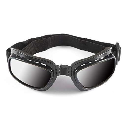 Tree-on-Life Vintage Motorrad Brille Winddicht Staubdicht Skibrille Off Road Racing Eyewear Brille Einstellbare Gummiband