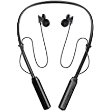 Chevron Deep Bass Wireless Sports Bluetooth Earphones with Stereo Sound and Handsfree Mic(Black)