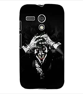 ColourCraft Ghost Back Case Cover for MOTOROLA MOTO G X1032