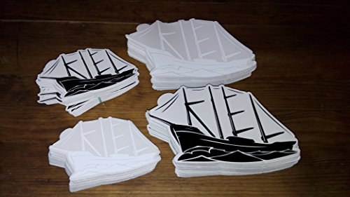 Preisvergleich Produktbild Kielschiff Aufkleber