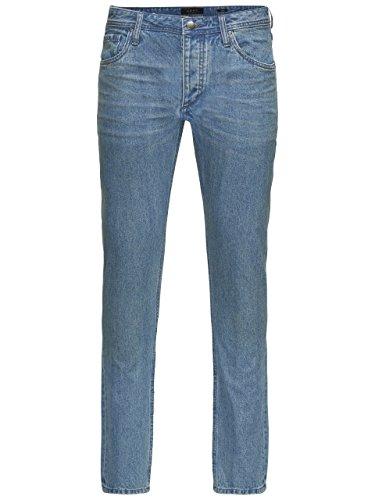 ADPT. Male Jeans-Hose mit 5 Pocket-Style | Herren blue Denim Light Blue Denim