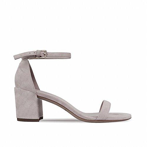 Cwj una parola con ruvida scarpa con sandalo fatato scarpe aperte a punta alta,b,40