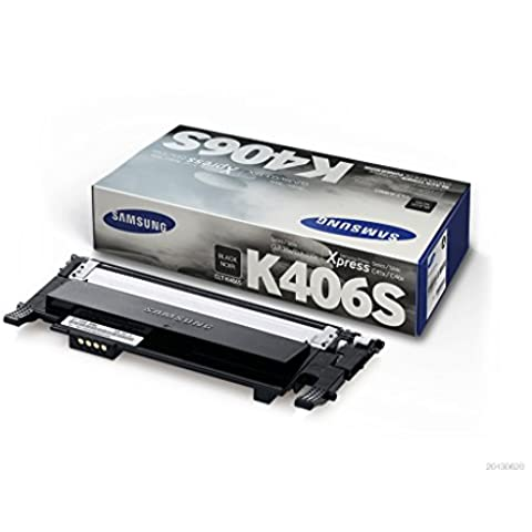 Samsung CLT-K406S/ELS - Tóner para Samsung CLP-360/ 365/ 368, CLX-3300/ 3305, negro