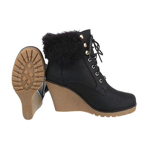74c56ce27c6b ... Sko utforming Offset Støvler Ital Og Svart Støvler Woman Kompensert  5AqSwpq ...