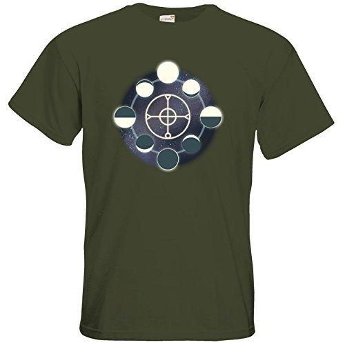 getshirts - Das Schwarze Auge - T-Shirt - Götter und Dämonen - Zyklus Madamal Khaki