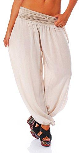488258e72496e4 Malito Pantaloni alla Zuava Aladin Harem Pantaloni Boyfriend Sbuffo ...