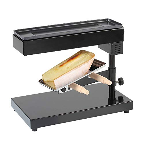 Raclette Ofen für ein ganzes Stück Käse Raclettegrill Standgerät (Käseschmelzer, 600 Watt, Höhe und Winkel einstellbar, Thermostat)