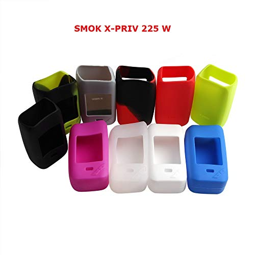 Skin Kit-grün (Schutzhülle für SMOK X-PRIV 225 W Akkuträger Silikon Case Skin Cover (Grün))