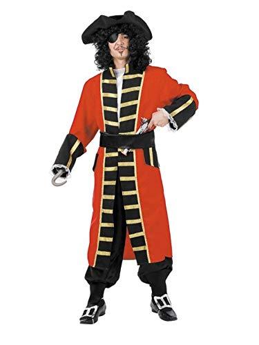 DISBACANAL Disfraces Capitán Garfio para Adulto - Único, XL
