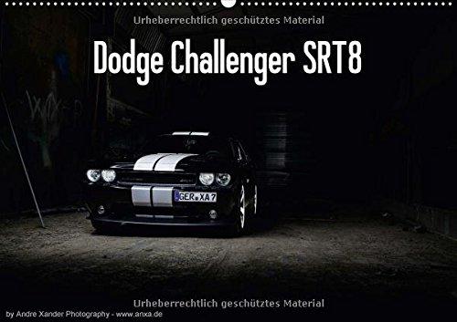 dodge-challenger-srt8-wandkalender-2018-din-a2-quer-challenger-monatskalender-14-seiten-