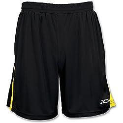 Joma Tokio - Pantalón de equipación para niños de 14 años, color negro / amarillo