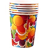 10 Pcs Cartoon Party Flower Child Drink Cups Cups Party