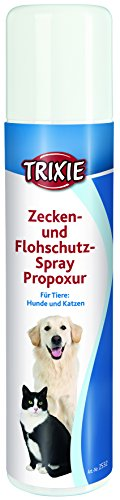 Spray Antiparasitario, Pulgas y Garrapatas, 250 ml