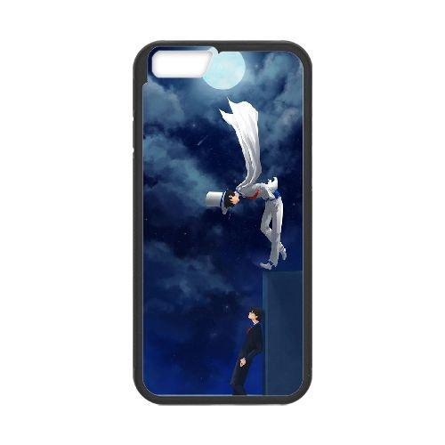 Detective Conan coque iPhone 6 4.7 Inch Housse téléphone Noir de couverture de cas coque EBDXJKNBO10162
