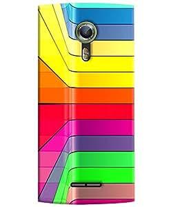 FurnishFantasy 3D Printed Designer Back Case Cover for Alcatel One Touch Flash 2