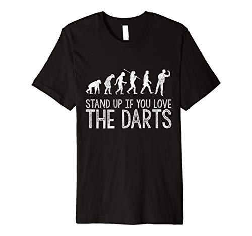 Darts Tshirt Herren Dartspieler Dart Evolution