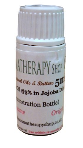 The Aromatherapy Shop-Olio essenziale, aroma: Magnolia, motivo: foglie al 5% di Jojoba