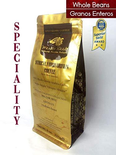 Mexico Real Cafe : Café Maya Elixir - Cafe Premium Mexicano. Cafe Gourmet Ganador Premio. Tostado Medio Artesanal. Arabica Altura. Notas: Zarzamora. Cafe de Especialidad. Biosfera Maya. Granos Enteros