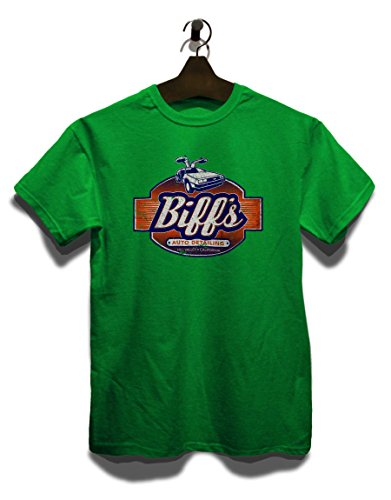 Biffs Auto Dealing T-Shirt Grün