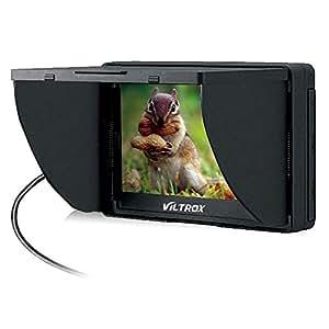 VILTROX DC-50 Moniteur Portable Vue Large HD Clip-on LCD 5 pouces pour Canon Nikon Sony DSLR Caméra DV