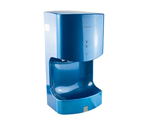 Secadores de mano con depósito de recogida de agua, secado rápido, efecto antibacteriano, tiempo de secado: 10-15 segundos, capacidad de 800W