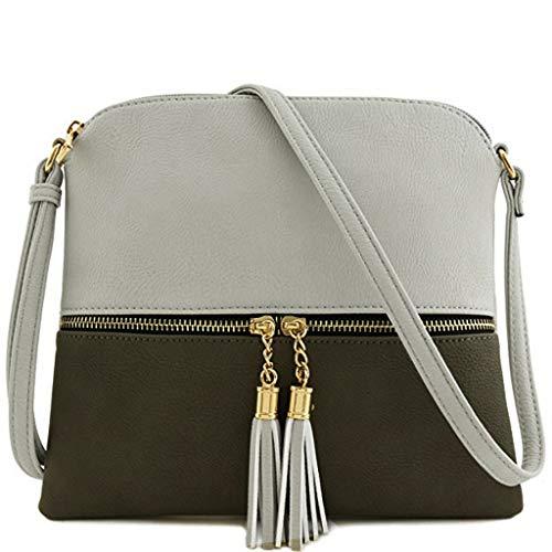 Damen Retro Mini Diagonale Umhängetasche Day.LIN Vintage Geldbörse Tasche Leder Umhängetasche Umhängetasche (U)