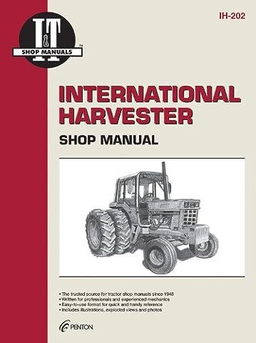 International Harvester Shop Manual Ih-202