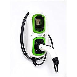 Vehículo eléctrico EV estación de carga Tipo 232Amp/7,2kW homecharging ~ Mercedes ~ BMW ~ Volvo ~ fabricados en el Reino Unido