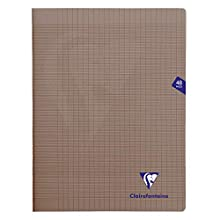 Clairefontaine Mimesys Stapled Notebook, A4+, Séyès ruled, 48 pages - Grey
