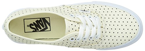 Vans U Authentic Slim Sneaker, Unisex Adulto Beige (micro Hearts) Class)