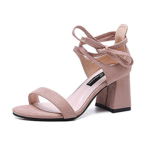 Grosse Chaussure - Femme Chic Sandales Chaussures à Talons Sangle