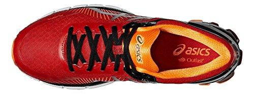 Asics Gel-kinsei 6, Chaussures de Running Compétition homme True Red/Silver/Hot Orange