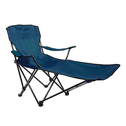 Aktive 52816 Chaise Longue de Camping Pliable Sport, 86 x 54 x 89 cm, Bleu