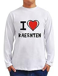I love Kaernten Langarm T-Shirt