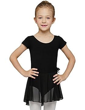 Mdnmd Mädchen Ballettkleid mit R