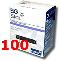 bgstar - 100 Streifen reagenz für die Kontrolle der Blutzucker - BG STAR mystar preisvergleich bei billige-tabletten.eu