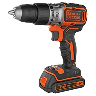 Black + Decker BL188GB Brushless Two Gear Hammer Drill,18V, 400mA charger