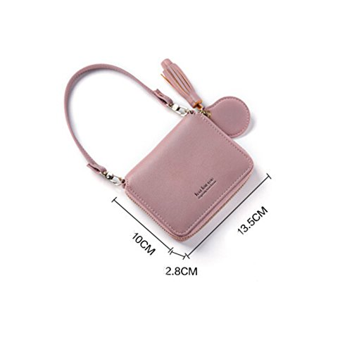 Homeofying 42065 - Cartera , rosa (Rosa) - 42065