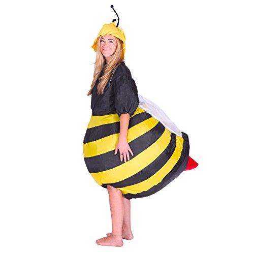 sbar für Erwachsene schwarz-gelb (Genial Einfache Halloween-kostüme Für Erwachsene)