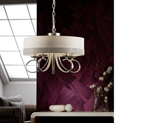SCHULLER - Lámparas Clásicas LED - Adela Plata 5L - iBERGADA