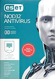 ESET NOD32 ANTIVIRUS 2019 - 2 USERS for 1 YEAR - AUTHENTIC MIDDLE EAST VERSION