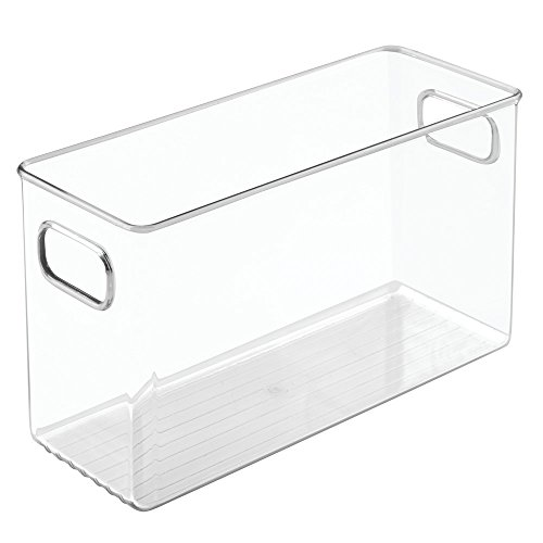 InterDesign Linus Fridge and Pantry Medium Storage Bin, 10 x 4 x 6-inch