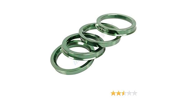 Hub Centric Ring Set 70 4 57 1 Rod Aluminium Anodised Aluminium Plate Aluett Material Alutec Auto