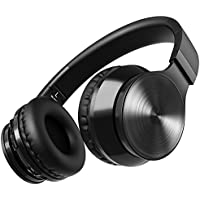 [Upgraded Version] OMorc Bluetooth Headphones, Wireless, Foldable Bluetooth Headset Over The Head Wireless/Wired Hi-Fi Stereo Headphones Built In Microphone For Music Streaming, Calling For iPhone, Android and Other Media Devices