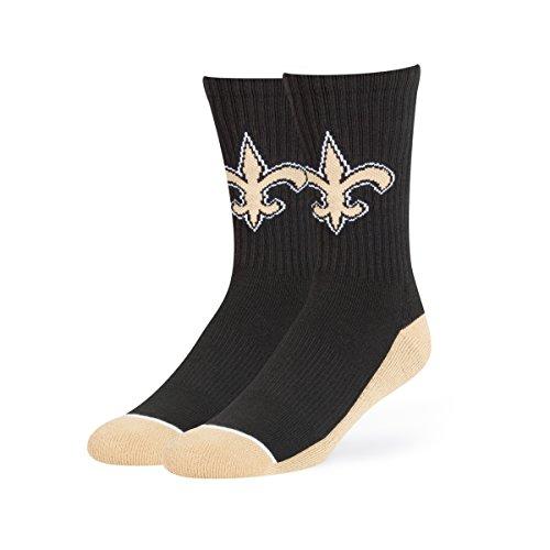 OTS NFL Hymne Sport Socke, groß, Unisex - Erwachsene, NFL Anthem Sport Sock, Large, schwarz, Large
