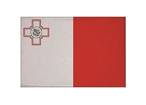u24-aufnaher-malta-fahne-flagge-aufbugler-patch-9-x-6-cm