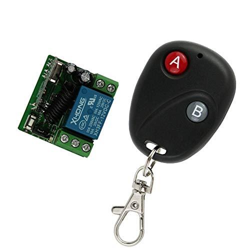 Alarma-de-Control-de-Garaje-elctrica-Universal-de-Seguridad-botn-433MHZ-Puerta-de-Garaje-Alarma-de-la-Motocicleta