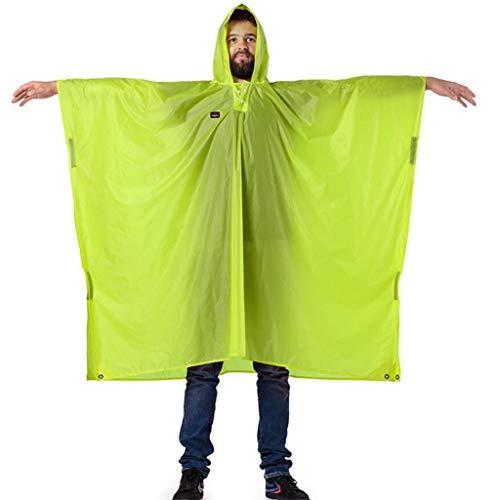 Asnvvbhz Regenponcho Outdoor-Regenmantel Poncho Ultra Light Rucksack mit Kapuze Regenbekleidung