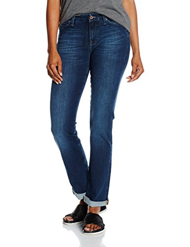 7-for-all-mankind-kimmie-straight-jeans-femme-bleu-bi-stretch-mid-w30-l33-taille-fabricant-30